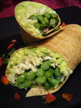 Asparagus and Avocado Wraps