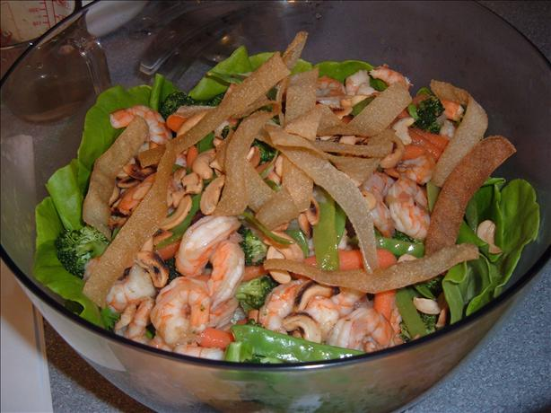 Newman's Own Sesame Ginger Shrimp Salad