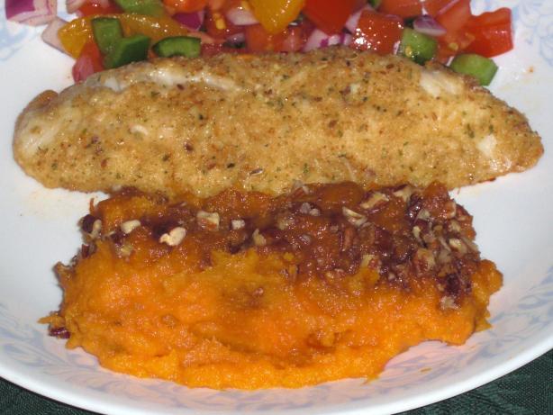 Sweet Potato and Apricot Puree
