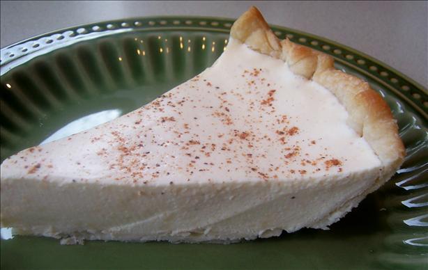 Cel's Eggnog Pie