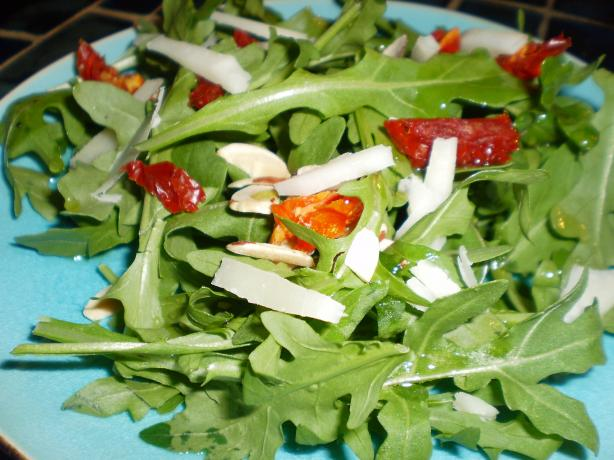 Arugula Salad With Shaved Manchego