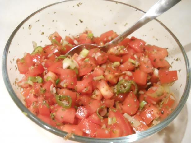 Fresh Tomato Bruchetta