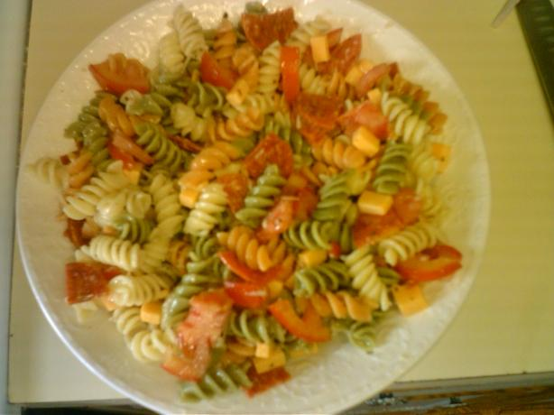 Garden Rotini Pasta Salad
