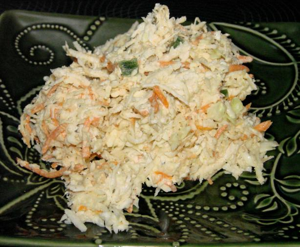 Simple Southwest Ranch Coleslaw