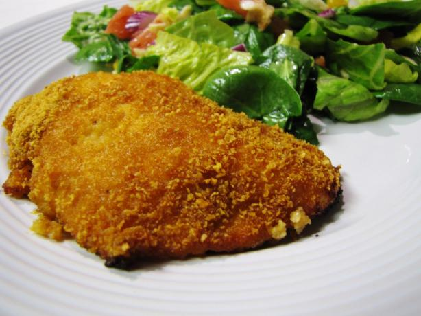 The Best Tasting Breaded Chicken!