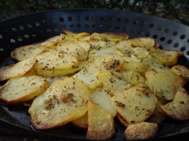 Smoky Potato Gratin (For BBQ)