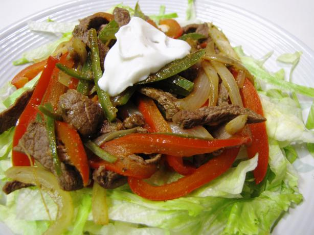 Mexican Beef Stir-Fry