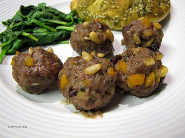 Lebanese-Style Spiced Meatballs