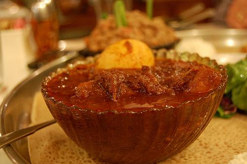 Ethiopian Chicken Doro Wat (stew)