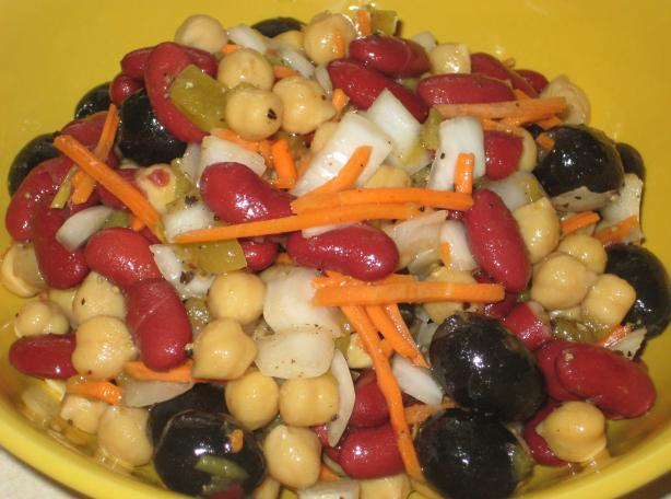 Bean and Olive Salad
