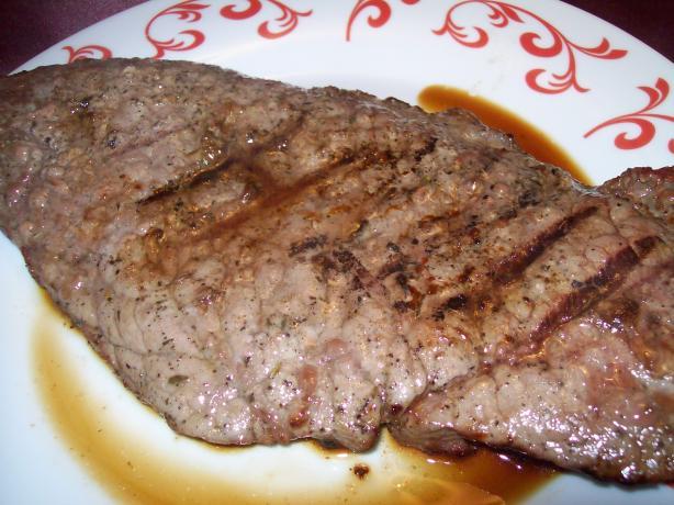 Maple Pepper Steaks