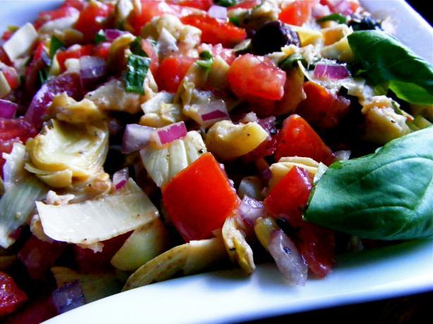 Artichoke Olive Salsa