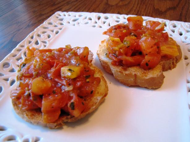 Mom's Bruschetta