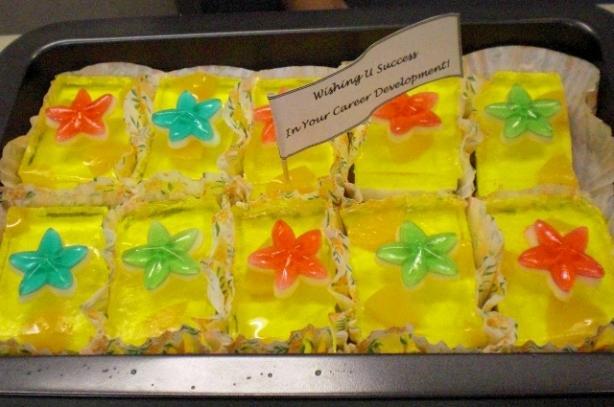 Non-Bake Peachy Lemon Cheesecake
