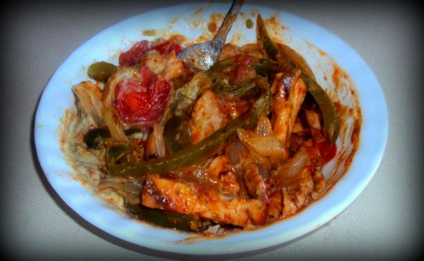 Chicken Avocado Stir Fry