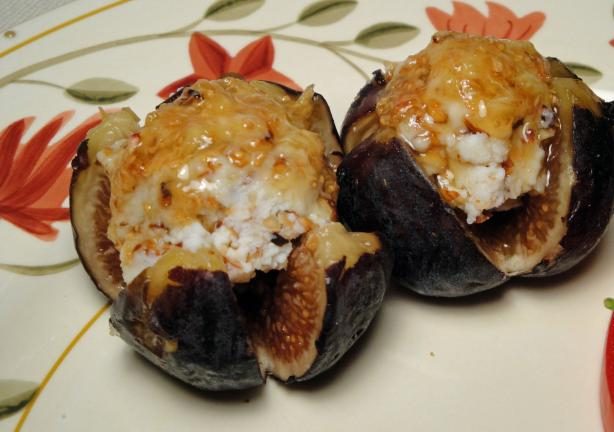 Stuffed Fresh Figs