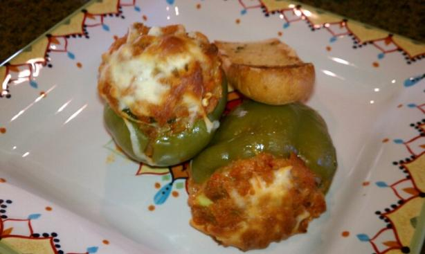 Aj's Stuffed Bell Pepper