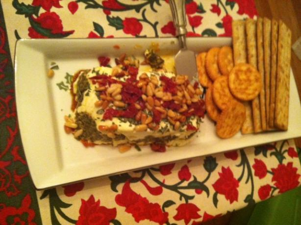 Sun-Dried Tomatoes and Cheese Terrine
