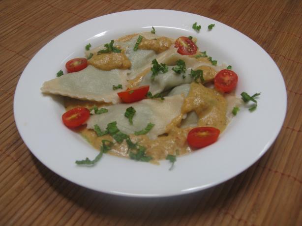 Indo-Italian Fusion Ravioli