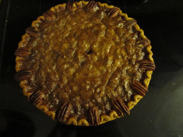 The Best Pecan Pie in the World.