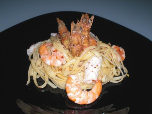 Twin Prawn Linguine Recipe