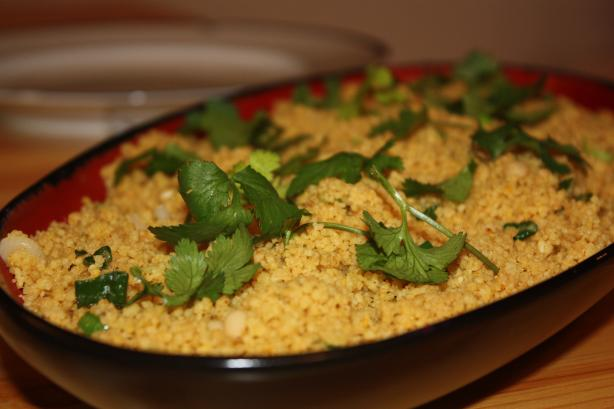 Ainsley's Spicy Casablanca Couscous