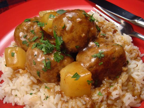 Dutch East Indies Meatballs
