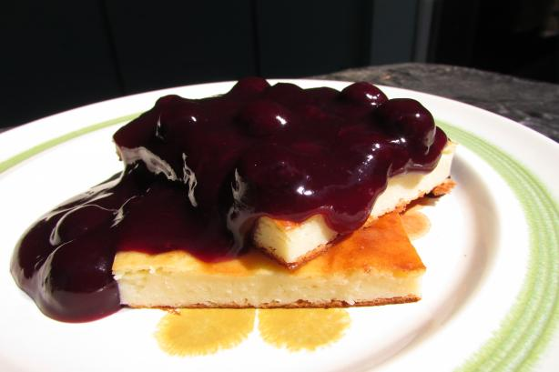 Fresh Blueberry Sauce