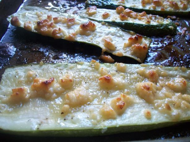 Honey Roasted Zucchini