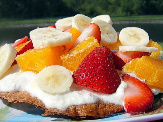 Fruity Tostada