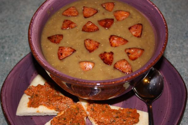 Brown Lentil Soup (Sharbat Adas Buni)