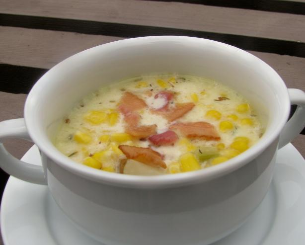 Bacon Corn Chowder With Potatoes