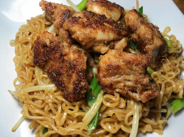 Chicken and Ramen Noodles