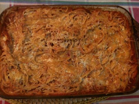 5 Star Baked Spaghetti