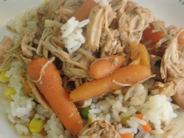 Garlic Balsamic Chicken Stew
