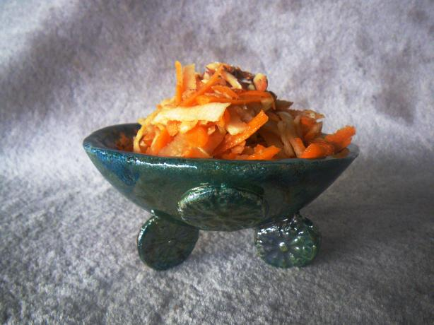 Persian Style Carrot Salad