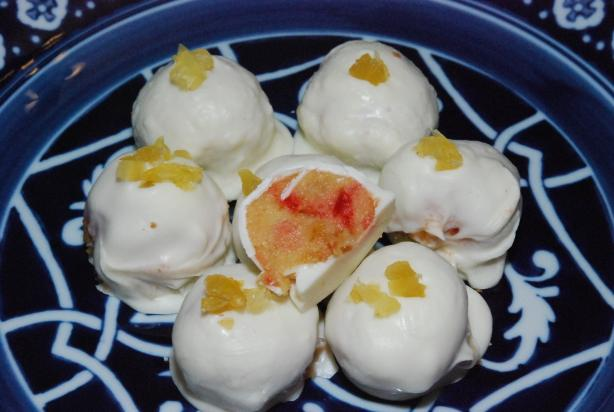 Cakeballs - Pineapple Upside Down Cake