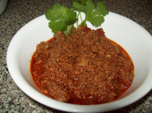 Meaty Man Chili