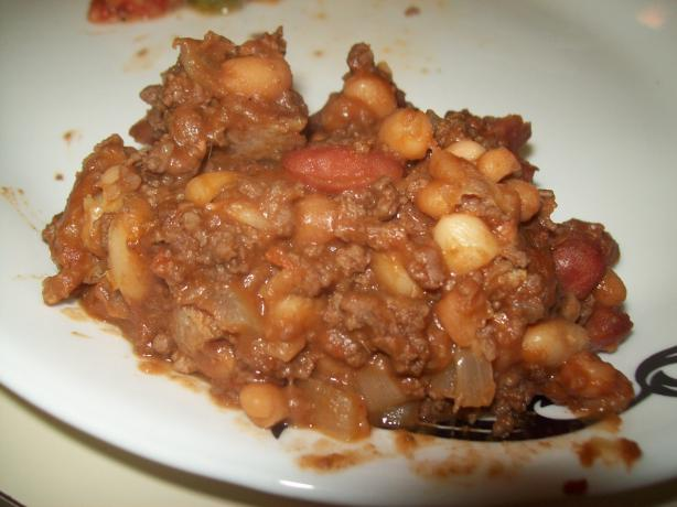 Venison and Bean Bake