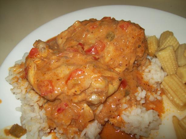 Braised to Be Praised Paprika Chicken