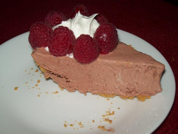 Chocolate Rasberry Frozen Cheesecake