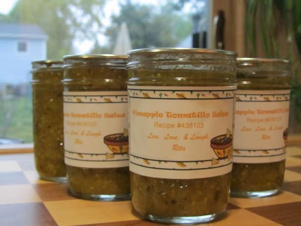 Pineapple Tomatillo Salsa