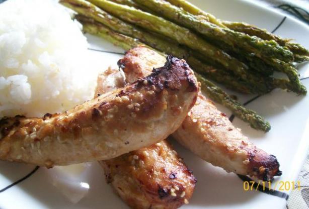 Gluten-Free Ginger Soy Sesame Chicken