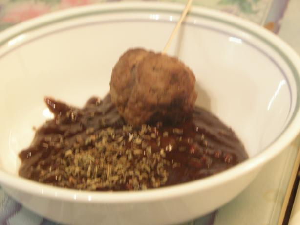 Thai Meatballs With Sateh