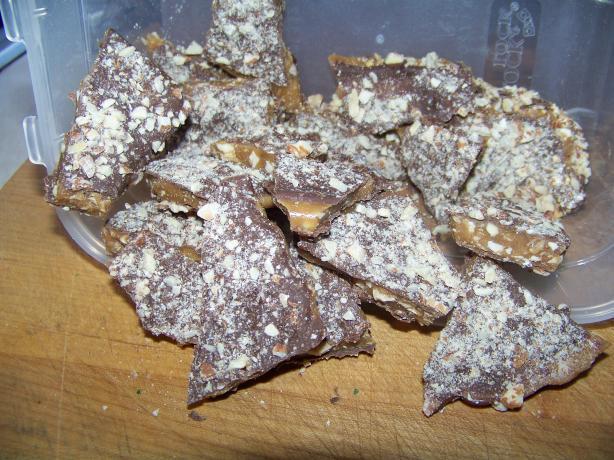 Almond Butter Crunch Candy