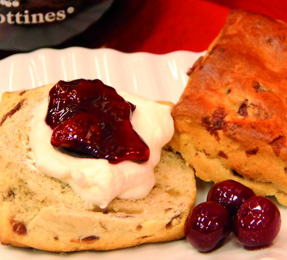 Scones With Griottines