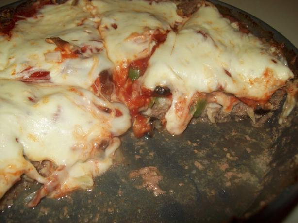 Crustless Pizza Pie