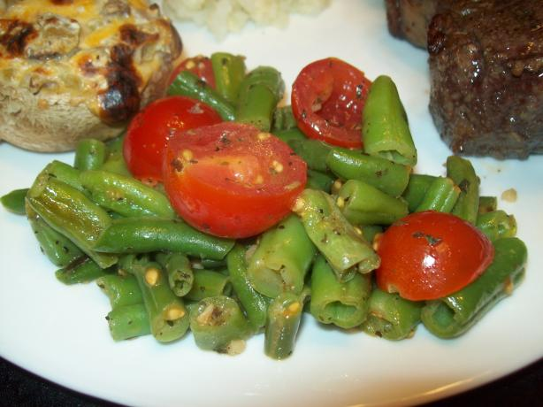 Green Beans With Tomatoes Salad