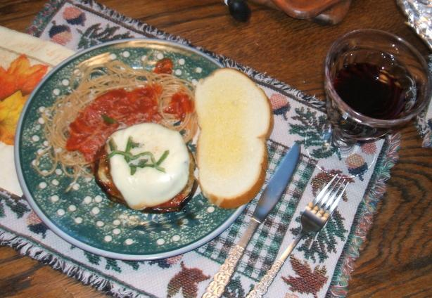 Eggplant All Parmigiano