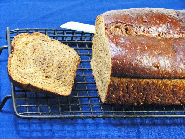 Flaxseed Molasses Bread